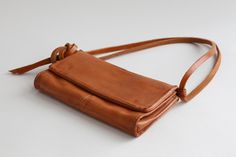 Washed Leather Bag