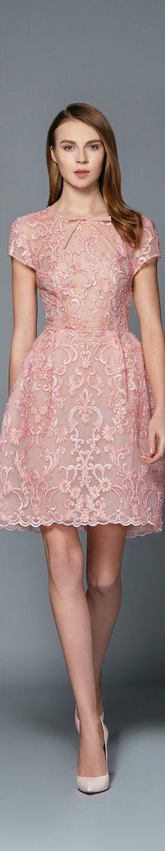 GH by Georges Hobeika FW 2016 - georgeshobeika.com.    ** Dress would need a MODESTY SLIP. **