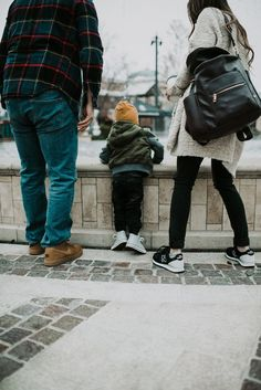 Perfect family style! Everything from their clothes to their shoes is perfect for family adventures out and about in the winter! Warm, comfy, trendy shoes is a must - all from /ShoeCarnival/ #HolidayRemix #ad