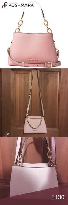 Michael Kors Portia Small Blossom Small Used only once in a like-new condition. No stains, no defects, comes with its original MK dust bag. No trades. Michael Kors Bags