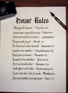 Rules That Govern Godly Homes