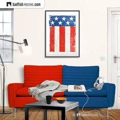 Us Flags, Do It Yourself Furniture, Home Of The Brave, Alternative Movie Posters, In God We Trust, Close To Home, Frame It, Cool Posters, Contemporary