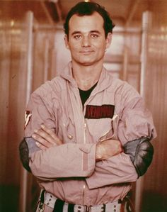 Bill Murray in The Ghostbusters