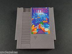 Tetris NES Nintendo Entertainment System 1989