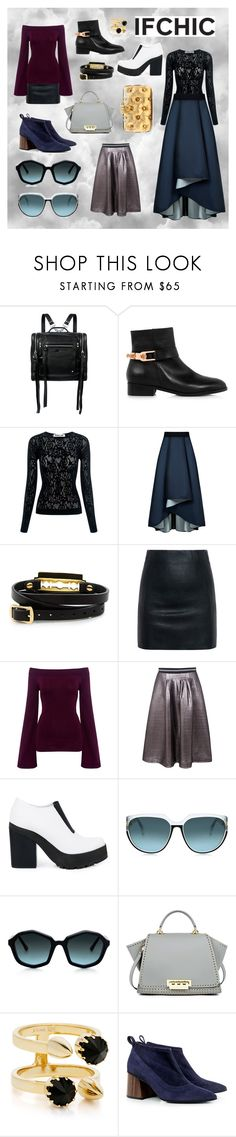 """""""ifchic autumn winter look"""" by beanpod ❤ liked on Polyvore featuring McQ by Alexander McQueen, Eugenia Kim, Sachin + Babi, Finders Keepers, Markus Lupfer, Miista, Steven Alan, ZAC Zac Posen, Joomi Lim and Benedetta Bruzziches"""