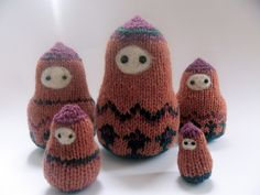 Ravelry: Babushka Russian Pebble Dolls pattern by Ruby Primm Yarn Projects, Needles Sizes, Doll Patterns, Ravelry, Nest, Knit Crochet, Socks, Knitting, Reading