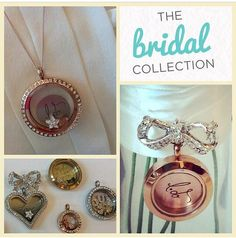 The Bridal Collection!! Coming soon Fall 2014, message me now as there is a locket for everyone in the bridal party!