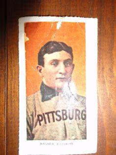 ** 2 Old Honus Wagner Baseball Cards (WHAT?) **