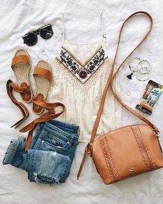 T-Shirt; For Teens; Simple Outfit;Two-Piece Set; Shorts Source by lialip_lip outfits Edgy Outfits, Mode Outfits, Simple Outfits, Fashion Outfits, Best Summer Dresses, Summer Outfits, Summertime Outfits, Urbane Mode, Looks Hippie