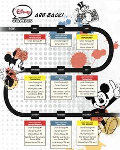 Monthly Disney Comics Coming Back