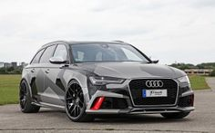 Preview wallpaper audi, rs6, avant, front view