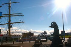 The harbourfront, Reykjavik, Iceland - travel with children, child, family, trips, vacations, holiday - http://globalmousetravels.com/2013/08/iceland-with-children/