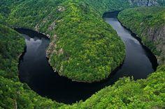 The Vltava River Bend, Czech Republic Homeland, Czech Republic, Beautiful Places, Earth, River, World, Nature, Green, Outdoor