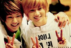 Ontae! Taemin and Onew from SHINee!<3