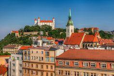 Bratislava Castle - Unusual viewpoint