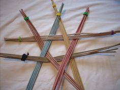 csillag Moje pletení z papíru - Fotoalbum - NÁVOD - NA NETRADIČNÍ PLETENÍ - NÁVOD - NA HVĚZDU