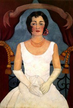 Frida's sister by Frida Kahlo, 1929