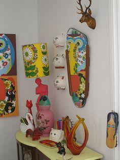 Kitsch wall decor interiors pinterest kitsch style for Flow wall 48 bonus set