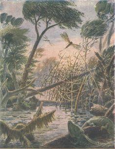 Нurricane in the Carboniferous