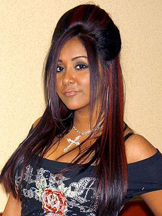 highlites in black | Snooki Adds 'Fresh Red Highlights': Love It or Hate It? – Style ...