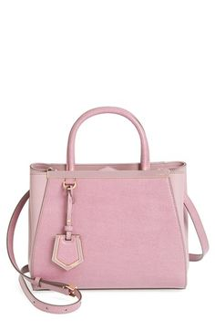 Fendi  Petit 2Jours Elite  Leather Shopper available at  Nordstrom Pink  Handbags, Purses bfc2f1413f7