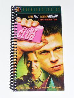 Fight Club - VHS Movie notebook