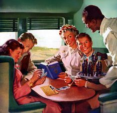 Plan59 :: Vintage Ads :: Haddon Sundblom, 1948