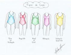 Cada Pessoa tem um tipo de corpo e a roupa pode ajudar a disfarçar pequenas imperfeições.