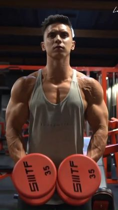 Bicep And Tricep Workout, Abs And Cardio Workout, Gym Workout Chart, Gym Workout Videos, Gym Workout For Beginners, Dumbbell Workout, Strength Workout, Gym Workouts, Academia Fitness