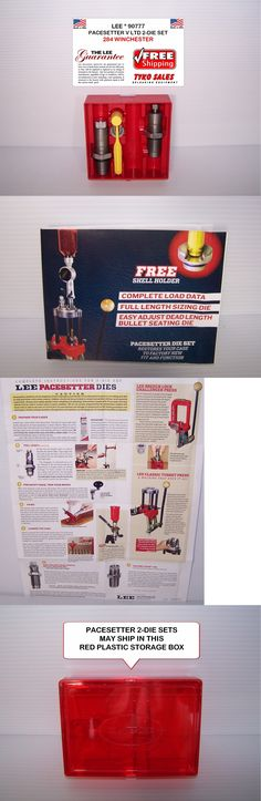 Dies 31825: 90777 * Lee Pacesetter V Lt Production 2-Die Set * 284 Winchester -> BUY IT NOW ONLY: $36.3 on eBay!