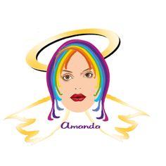 Angel Chakra Hair- Amanda