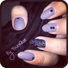 Grey Velvet & Black sparkle