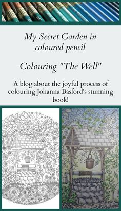 Colouring The Well In Johanna Basfords Beautiful Book My Secret Garden MySecretGarden