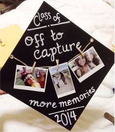 40 creative ideas to make your own diy graduation cap decoration 3 Graduation Cap Designs, Graduation Cap Decoration, High School Graduation, Graduation Pictures, College Graduation, Graduation Caps, Graduation Ideas, Graduation Gifts For Friends, Graduation Quotes