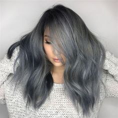 We think it's safe to say metallic tones are having a moment right now. Get the color formula and how-to for this metallic lilac shade from April Marie Madsen!