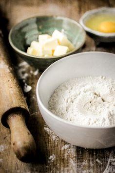 Deeg voor bodems van quiches en hartige taarten