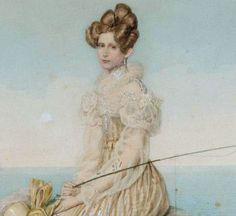 Charlotte of Prussia, later Empress Alexandra Feodorovna, consort of Tsar Nicholas I.