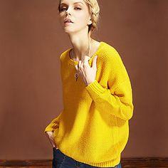 Pretty Color Basic Sweater