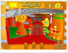"""""""Bugs World 3"""". Juegos, actividades interactivas y materiales didácticos complementarios de Inglés de 3º Nivel de Educación Primaria de Editorial Macmillan."""