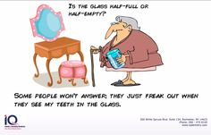 If you're tired of keeping your smile in a glass, ask us about implants.  Just call 585-475-0140!