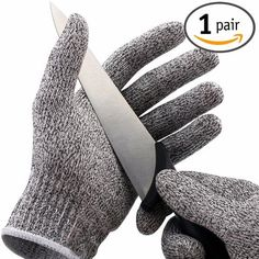 No-cry Cut Resistant Food Grade Safety Gloves  Kitchen Glove for Cutting and Slicing - Sleek Gadget Store