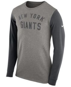 a7a71acbfb4 Nike Men's New York Giants Heavyweight Long Sleeve T-Shirt - Gray XXL  Carolina Panthers