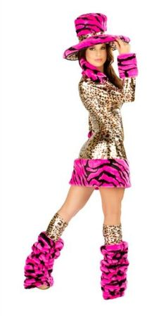 Sexy Womens Aduly Furry Pimp Animal Costume (Animal, M)  - Click image twice for more info - See a larger selection  of women's animal costume at http://costumeriver.com/product-category/womens-animal-costumes/ -  holiday costume , event costume , halloween costume, cosplay costume, classic costumes, scary costume,animal costumes, classic costumes, clothing