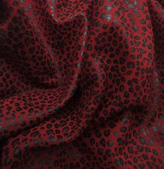 Red Baby Leopard Print 👌 Ckeck it on Etsy! Baby Leopard, Leather Craft, Red, Crafts, Etsy, Instagram, Fashion, Moda, Manualidades