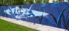 Delft Graffiti: LUCKY LUCY by Akbar Sim on Flickr.A través de Flickr: De Middenberm