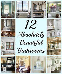 12 beautiful bathrooms inspiration, bathroom ideas, design d cor Budget Bathroom, Simple Bathroom, Modern Bathroom Design, Bathroom Interior, Bathroom Ideas, Bathroom Designs, Bath Ideas, Bathroom Renovations, Bathroom Baskets