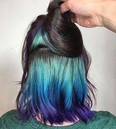 Hidden hair dye