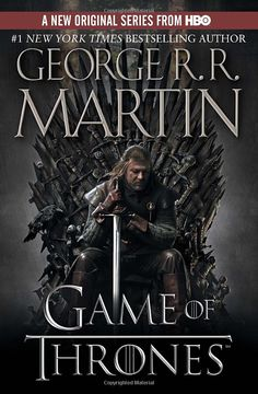 Game of Thrones. I've been listening to the audio version of the books. I didn't think I was going to like it. I LOVE IT! If you like the HBO version, then you'll like the books. HBO takes the book almost word for word. Fire Book, Up Book, This Book, Book Nerd, George Rr Martin, House Stark, Davos, New York Times, Jon Snow