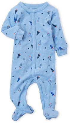 Green,0-3 Months Newborn Baby Boys New to the Crew Sleepers Dinosaur Nightgowns with Hat and Blanket