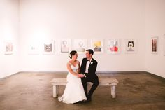 Chic Art Gallery Wedding | Mary Margaret Smith Photography | Bridal Musings Wedding Blog 25